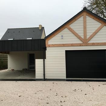Construction d'un garage près de Saint-Brieuc