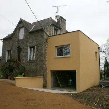Extension d''une maison à 20min de Lamballe