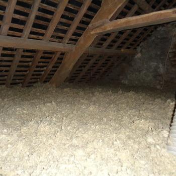 Isolation par soufflage des combles à Ploeuc-sur-Lié, Côtes d''Armor