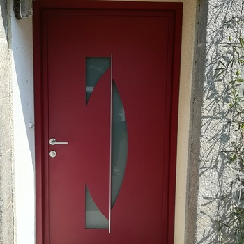 Remplacement d''une porte d''entrée près de Dinan