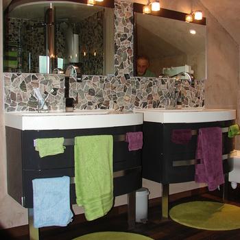 Rénovation de combles et création de salle de bain à Lézardrieux