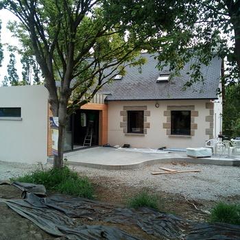 Rénovation fenêtres alu à Jugon-les-lacs - Côtes d''Armor (22)