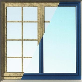 Rénovation fenêtres : la fenêtre à ouvrant caché