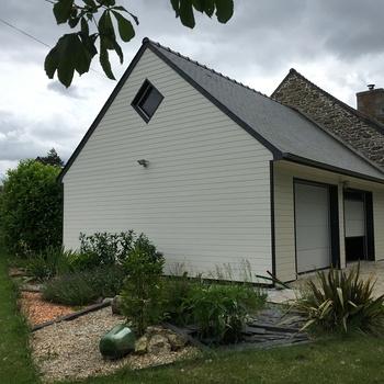 Rénovation maison en pierre et extension à Trébry, Côtes d''Armor