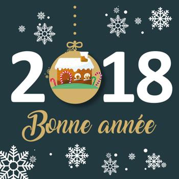 Toute l''équipe Doré Habitat vous souhaite une très bonne année 2018