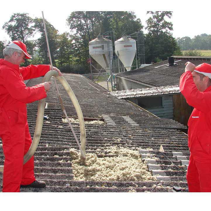 isolation de batiment agricole en toiture
