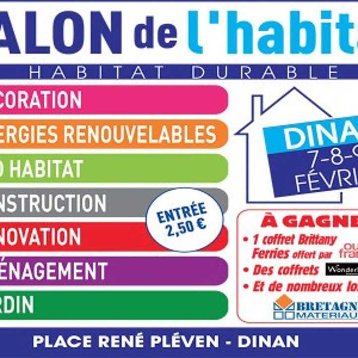 Salon de l 39 habitat dinan for Salon de l habitat colmar