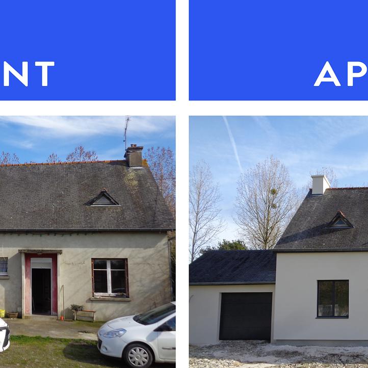 Rénovation Porte Dentrée Et Fenêtres à Plédran Près De St Brieuc