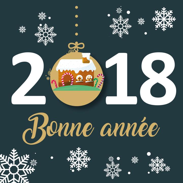 toute l equipe dore habitat vous souhaite une tres bonne annee 2018